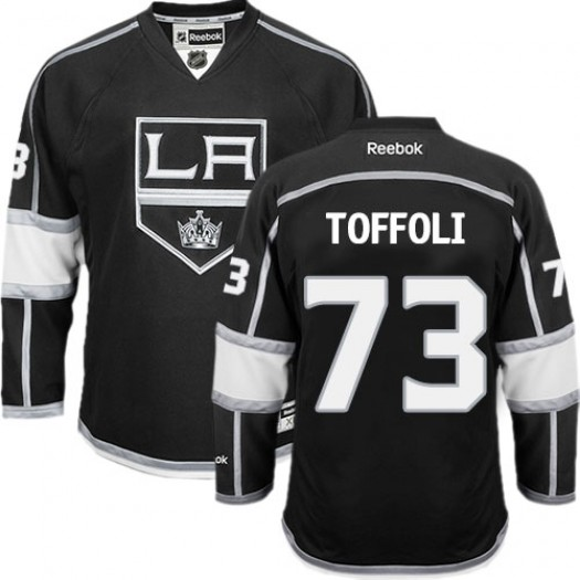 Tyler Toffoli Los Angeles Kings Men's Reebok Authentic Black Home Jersey