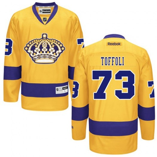Tyler Toffoli Los Angeles Kings Men's Reebok Authentic Gold Alternate Jersey