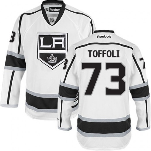 Tyler Toffoli Los Angeles Kings Men's Reebok Authentic White Away Jersey