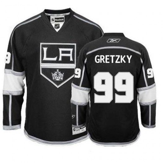 Wayne Gretzky Los Angeles Kings Men's Reebok Authentic Black Home Jersey