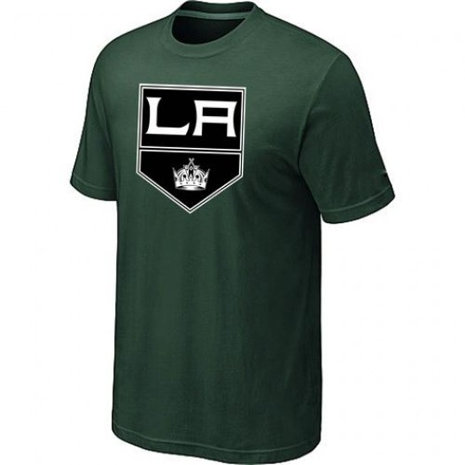 Los Angeles Kings Men's Green Big & Tall Logo T-ShirtDark