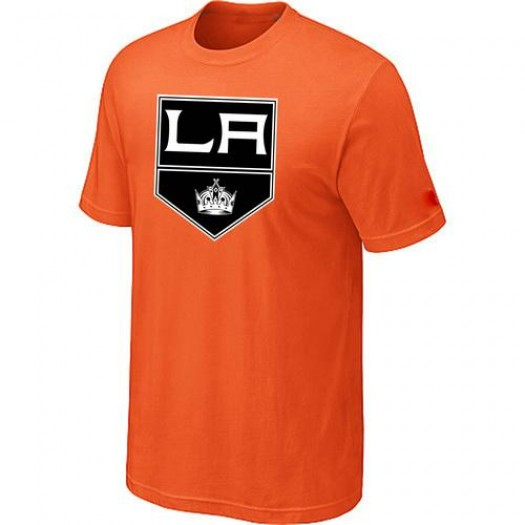 Los Angeles Kings Men's Orange Big & Tall Logo T-Shirt