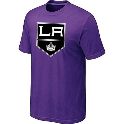 Los Angeles Kings Men's Purple Big & Tall Logo T-Shirt