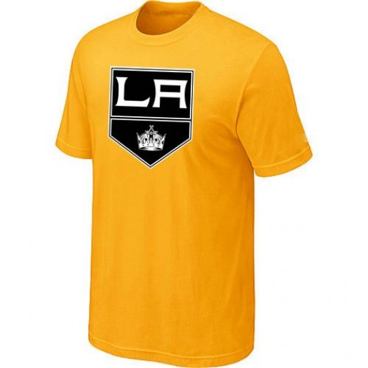 Los Angeles Kings Men's Yellow Big & Tall Logo T-Shirt