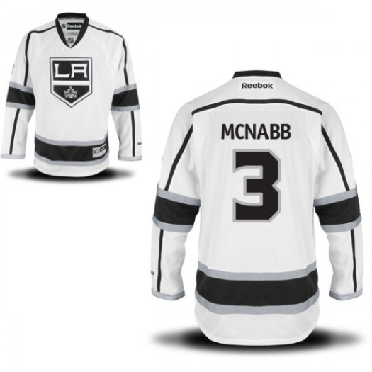 Brayden Mcnabb Los Angeles Kings Men's Reebok Replica White Away Jersey