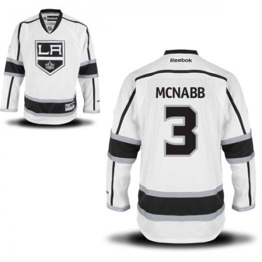 Brayden Mcnabb Los Angeles Kings Men's Reebok Authentic White Away Jersey