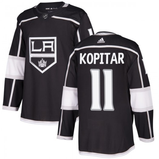 Anze Kopitar Los Angeles Kings Men's Adidas Authentic Black Jersey