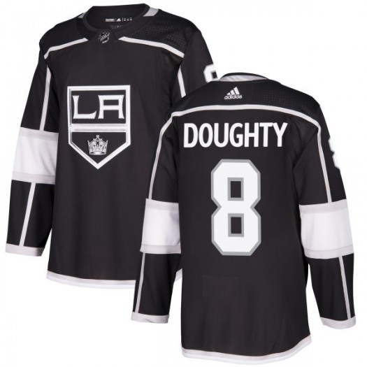 Drew Doughty Los Angeles Kings Men's Adidas Authentic Black Jersey