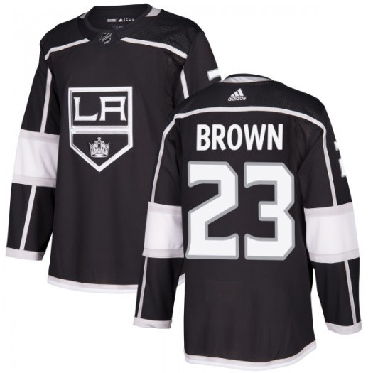 Dustin Brown Los Angeles Kings Men's Adidas Authentic Black Jersey