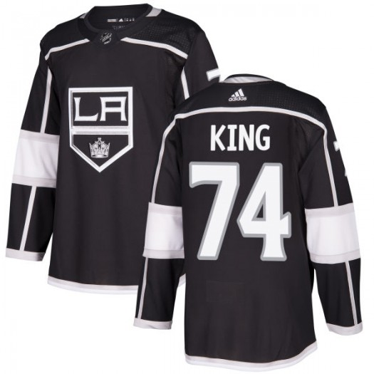 Dwight King Los Angeles Kings Men's Adidas Authentic Black Jersey