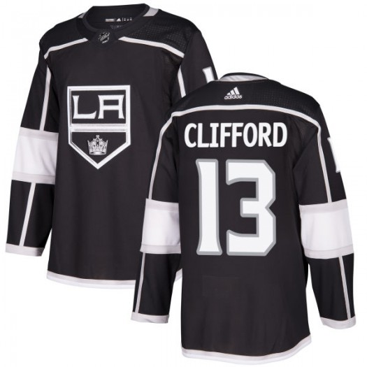 Kyle Clifford Los Angeles Kings Men's Adidas Authentic Black Jersey