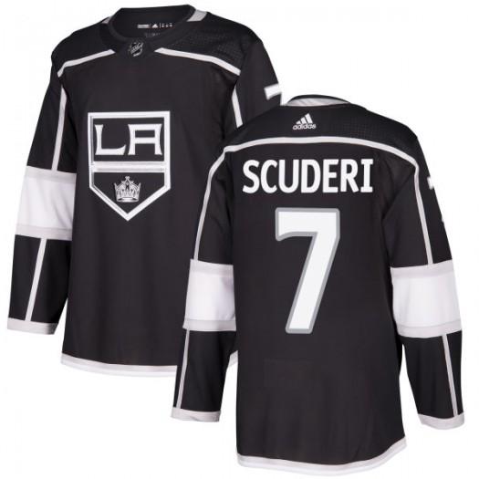 Rob Scuderi Los Angeles Kings Men's Adidas Authentic Black Jersey