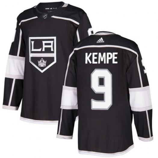 Adrian Kempe Los Angeles Kings Men's Adidas Premier Black Home Jersey