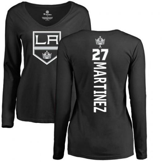Alec Martinez Los Angeles Kings Women's Adidas Premier Black Home Jersey