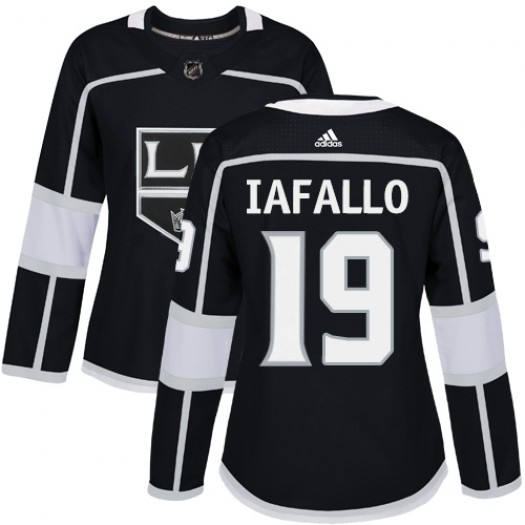 Alex Iafallo Los Angeles Kings Women's Adidas Authentic Black Home Jersey