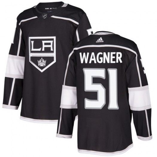 Austin Wagner Los Angeles Kings Youth Adidas Authentic Black Home Jersey
