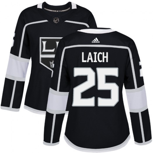 Brooks Laich Los Angeles Kings Women's Adidas Authentic Black Home Jersey