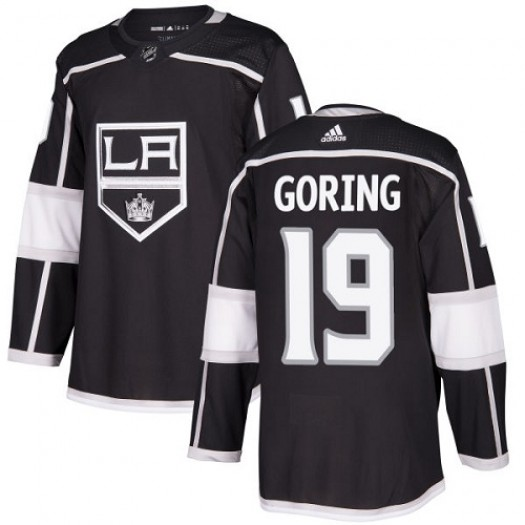 Butch Goring Los Angeles Kings Youth Adidas Authentic Black Home Jersey