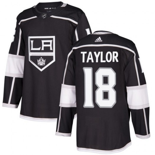 Dave Taylor Los Angeles Kings Men's Adidas Premier Black Home Jersey