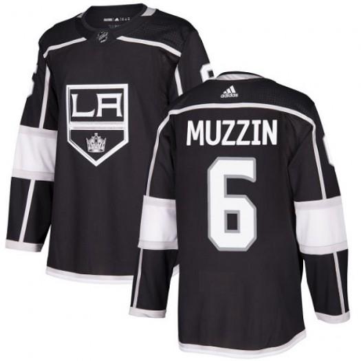 Jake Muzzin Los Angeles Kings Men's Adidas Premier Black Home Jersey