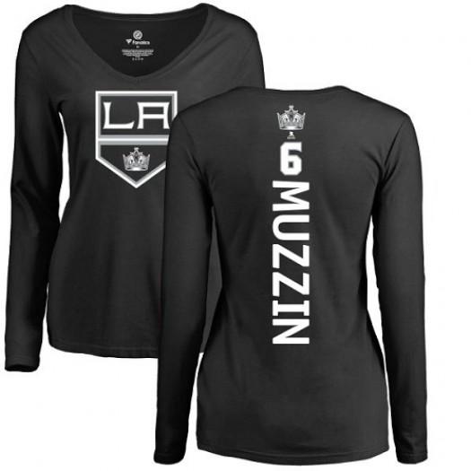 Jake Muzzin Los Angeles Kings Women's Adidas Premier Black Home Jersey