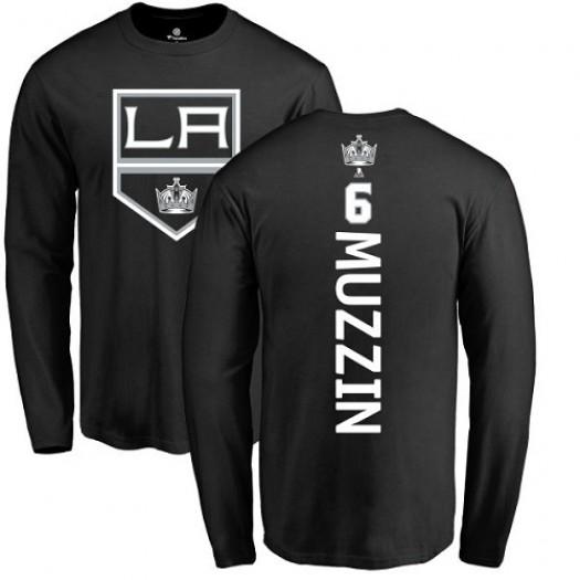 Jake Muzzin Los Angeles Kings Youth Adidas Premier Black Home Jersey