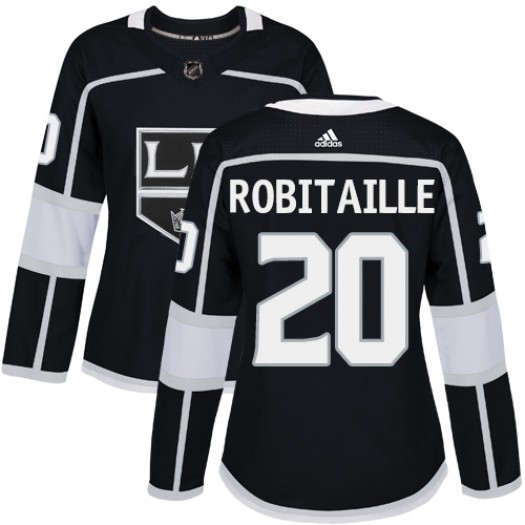 Luc Robitaille Los Angeles Kings Women's Adidas Authentic Black Home Jersey