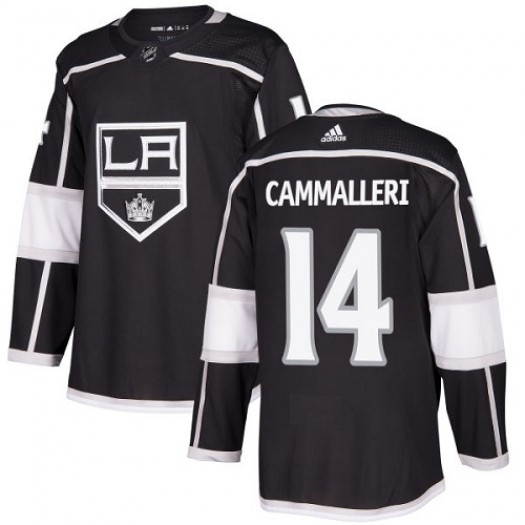 Mike Cammalleri Los Angeles Kings Men's Adidas Premier Black Home Jersey