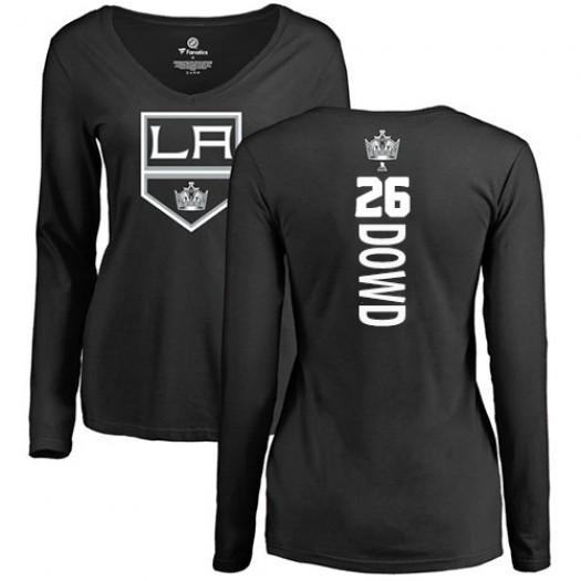 Nic Dowd Los Angeles Kings Women's Adidas Premier Black Home Jersey