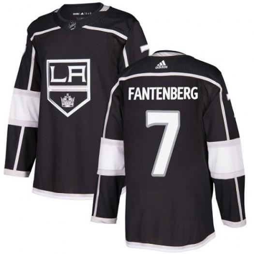 Oscar Fantenberg Los Angeles Kings Men's Adidas Premier Black Home Jersey