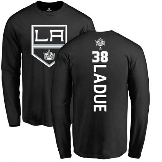 Paul LaDue Los Angeles Kings Youth Adidas Premier Black Home Jersey
