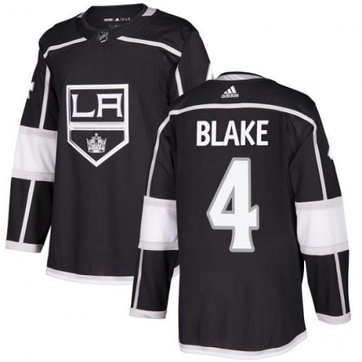Rob Blake Los Angeles Kings Men's Adidas Premier Black Home Jersey