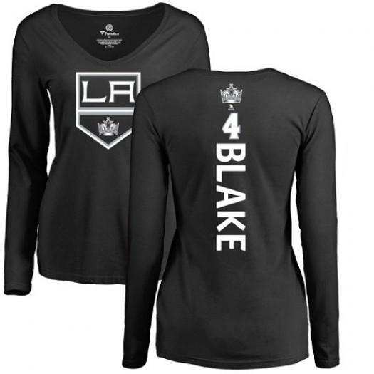 Rob Blake Los Angeles Kings Women's Adidas Premier Black Home Jersey