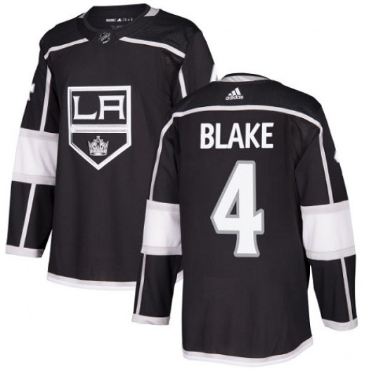 Rob Blake Los Angeles Kings Youth Adidas Authentic Black Home Jersey