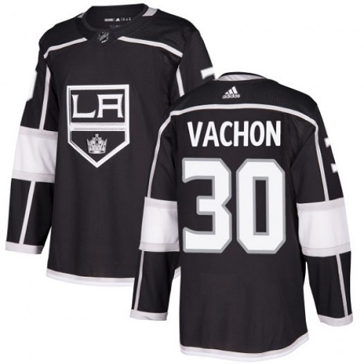 Rogie Vachon Los Angeles Kings Youth Adidas Authentic Black Home Jersey