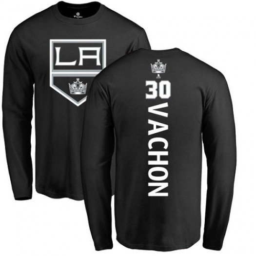 Rogie Vachon Los Angeles Kings Youth Adidas Premier Black Home Jersey