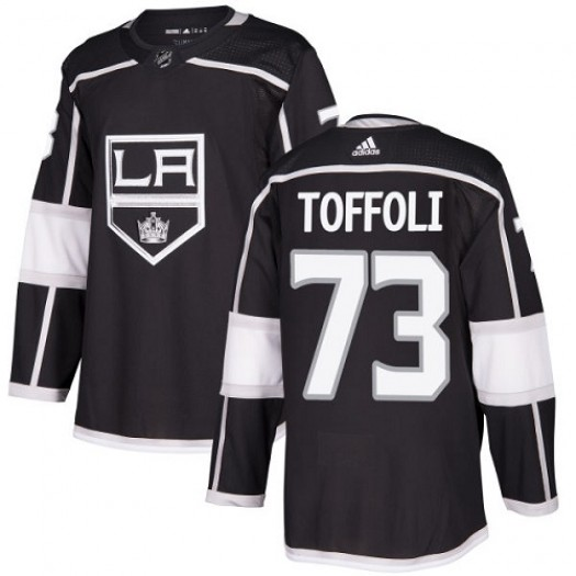 Tyler Toffoli Los Angeles Kings Men's Adidas Premier Black Home Jersey