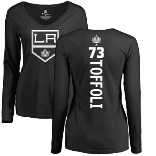 Tyler Toffoli Los Angeles Kings Women's Adidas Premier Black Home Jersey