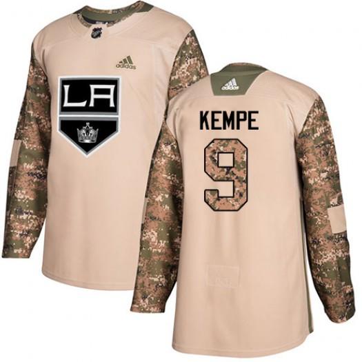 Adrian Kempe Los Angeles Kings Men's Adidas Authentic Camo Veterans Day Practice Jersey