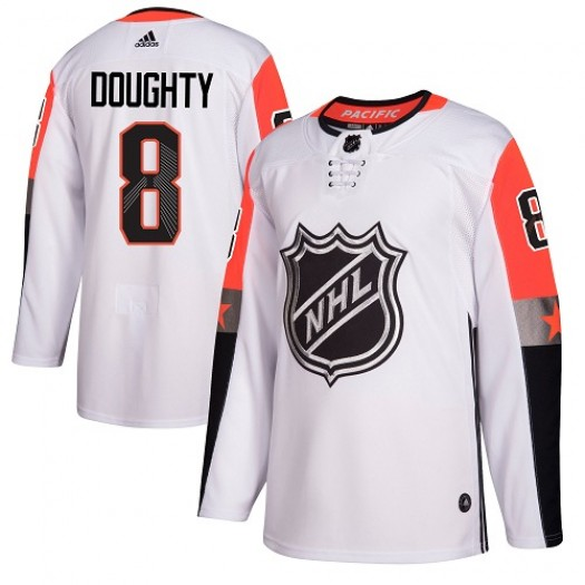 Drew Doughty Los Angeles Kings Men's Adidas Authentic White 2018 All-Star Pacific Division Jersey